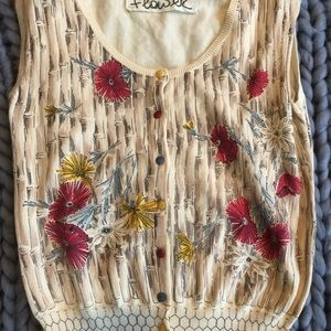 Anthropologie Sleeveless Shirt